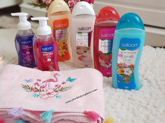 saloon duş jelleri