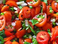 простой салат из помидоров рецепт