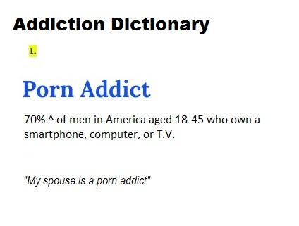 definition of a sexual addict verdict Golo