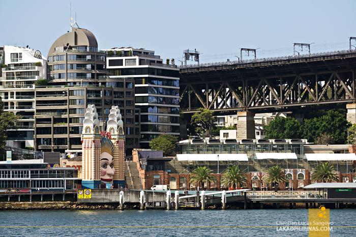 Sydney Harbour Cruise Luna Park