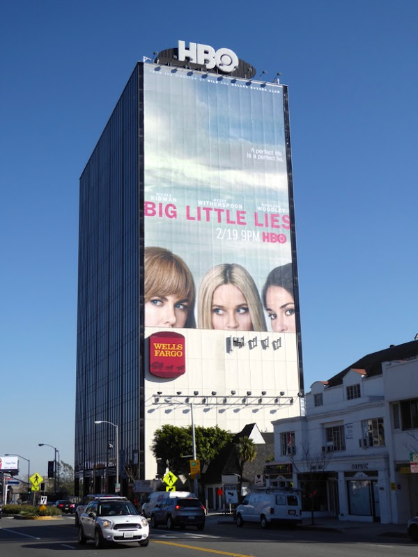 Giant Big Little Lies limited series billboard