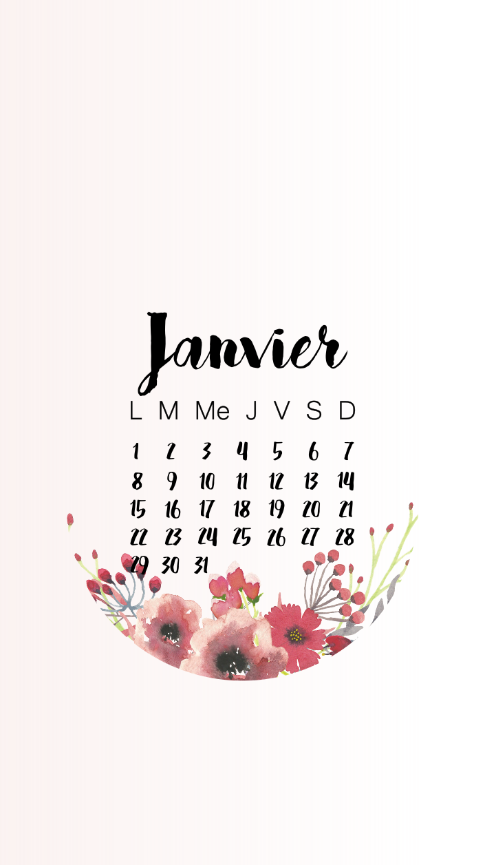pauline-dress-fond-ecran-rose-pastel-aquarelle-jpeg-janvier-2018-wallpaper-telephone-iphone-january-calendrier