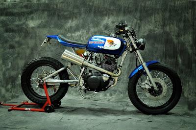 "Yamaha SR 250 ""Speedy"" by XTR Pepo"