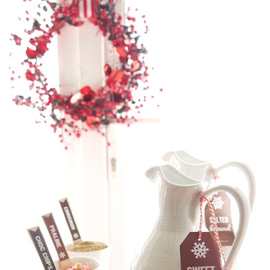 Quick and Easy Holiday Hot Cocoa Bar Cart