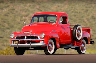 1954 Chevrolet Series 3100 Pickup Front Left