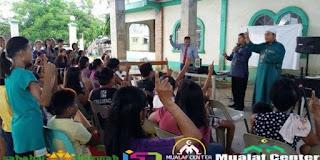Allahu Akbar!! 150 Warga Filipina Bersama-Sama Ikrar Syahadat