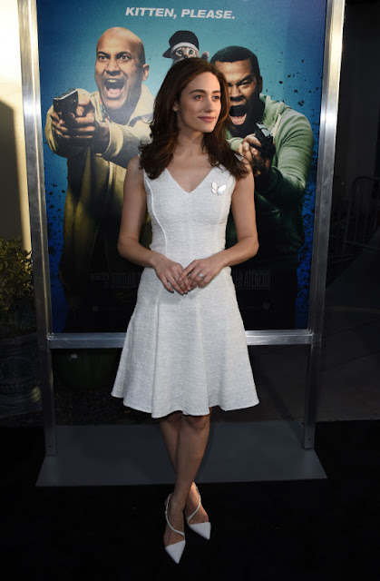 Emmy Rossum - Premiere Of Keanu Los Angeles