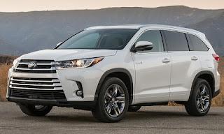 Toyota Highlander 2019: changements, spécifications, date de sortie, conception