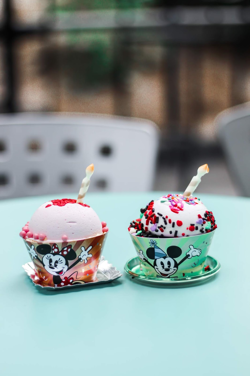 Mickey and Minnie Celebration Cakes