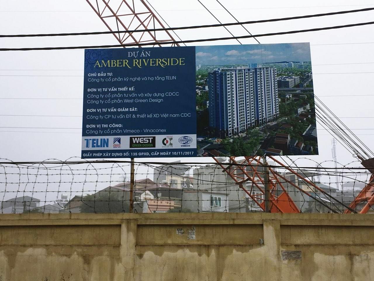 Tiến độ xây dựng dự án Amber Riverside