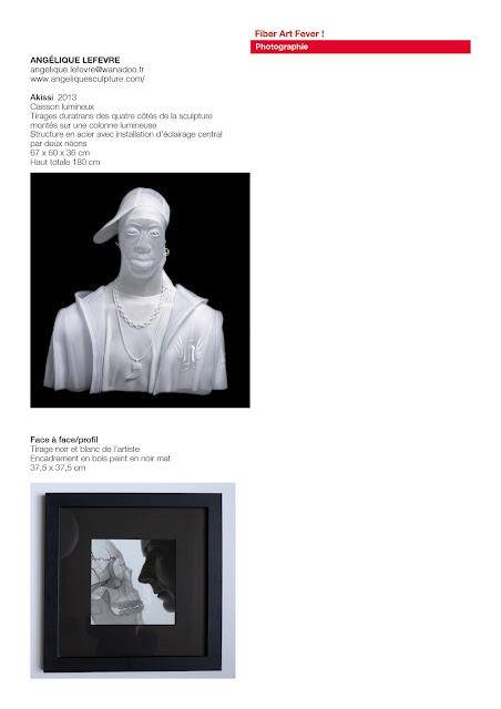 sculpture textile, sculpture organdi, transparence, art blanc