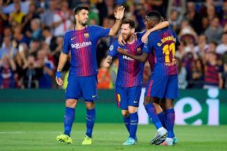 نتيجه مباراة برشلونة وهويسكا اليوم الأحد 2-9-2018 ضمن مباريات الدوري الأسباني