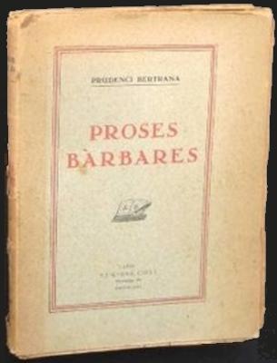 Proses bàrbares (Prudenci Bertrana)