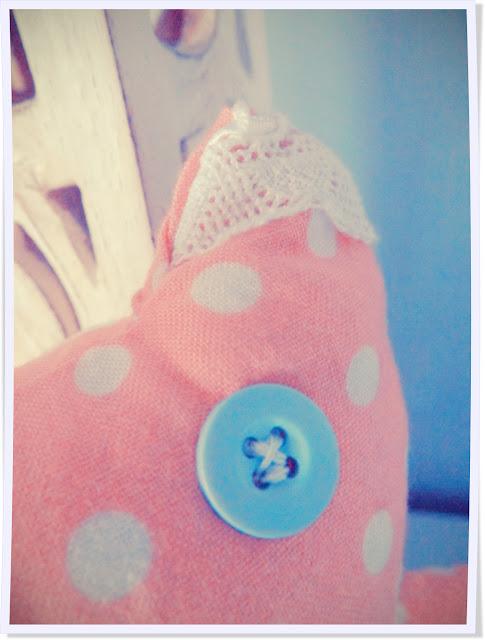 Doudou, chat, bébé, dentelle, petit pois, couture