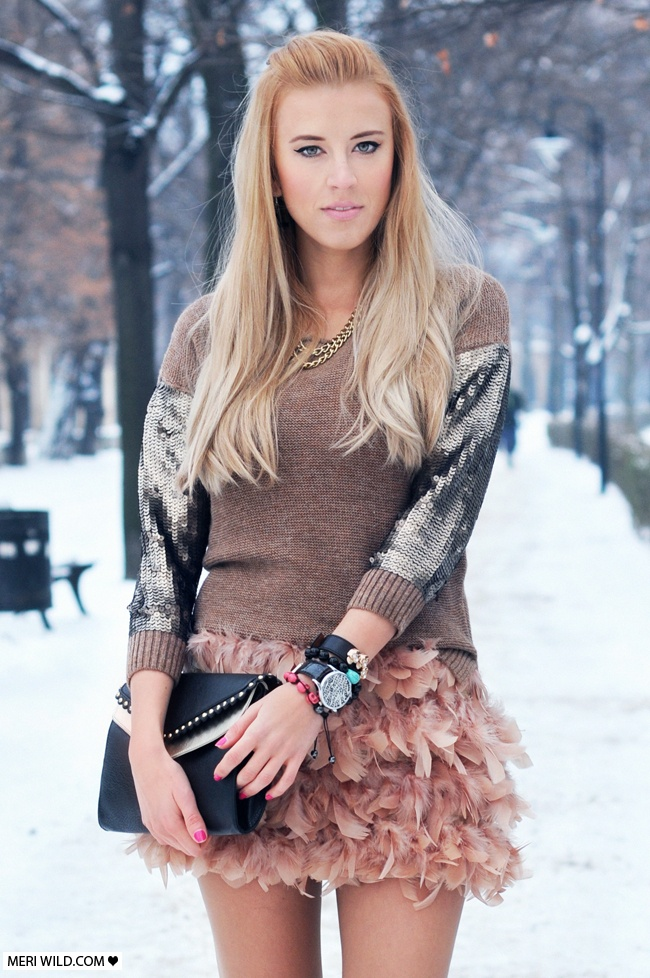 Mango sweater Bershka Bag moda blog
