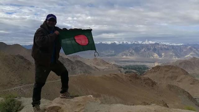 'পার্পল ড্রিম'- খারদুংলা টপ! ১৮,৩৮০ ফুট! (পর্ব ৩০)