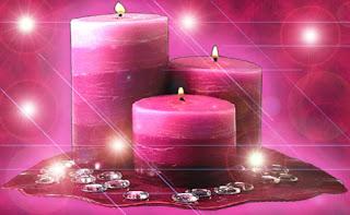 Velas mágicas: Vela Rosa