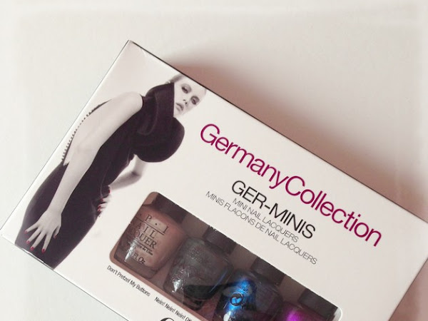 ZAPIKONAI: OPI GERMANY COLLECTION GER-MINIS