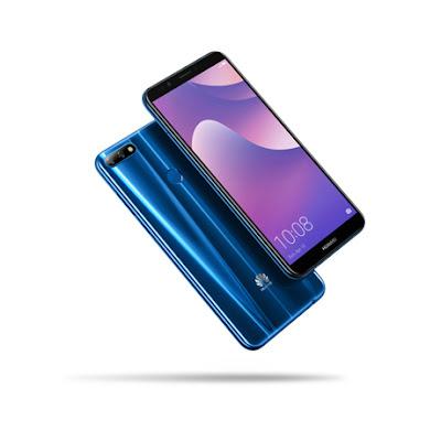 هواوي تعلن عن توفر هاتفها الذكي الجديد Y7 Prime 2018 في العراق