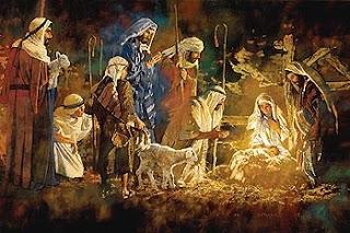 Și păstorii au venit să se închine Pruncului nou născut - imagine preluată de pe google images