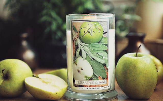 Soczyste klimaty - Crisp Apple and Sage, Kringle Candle - Czytaj więcej »