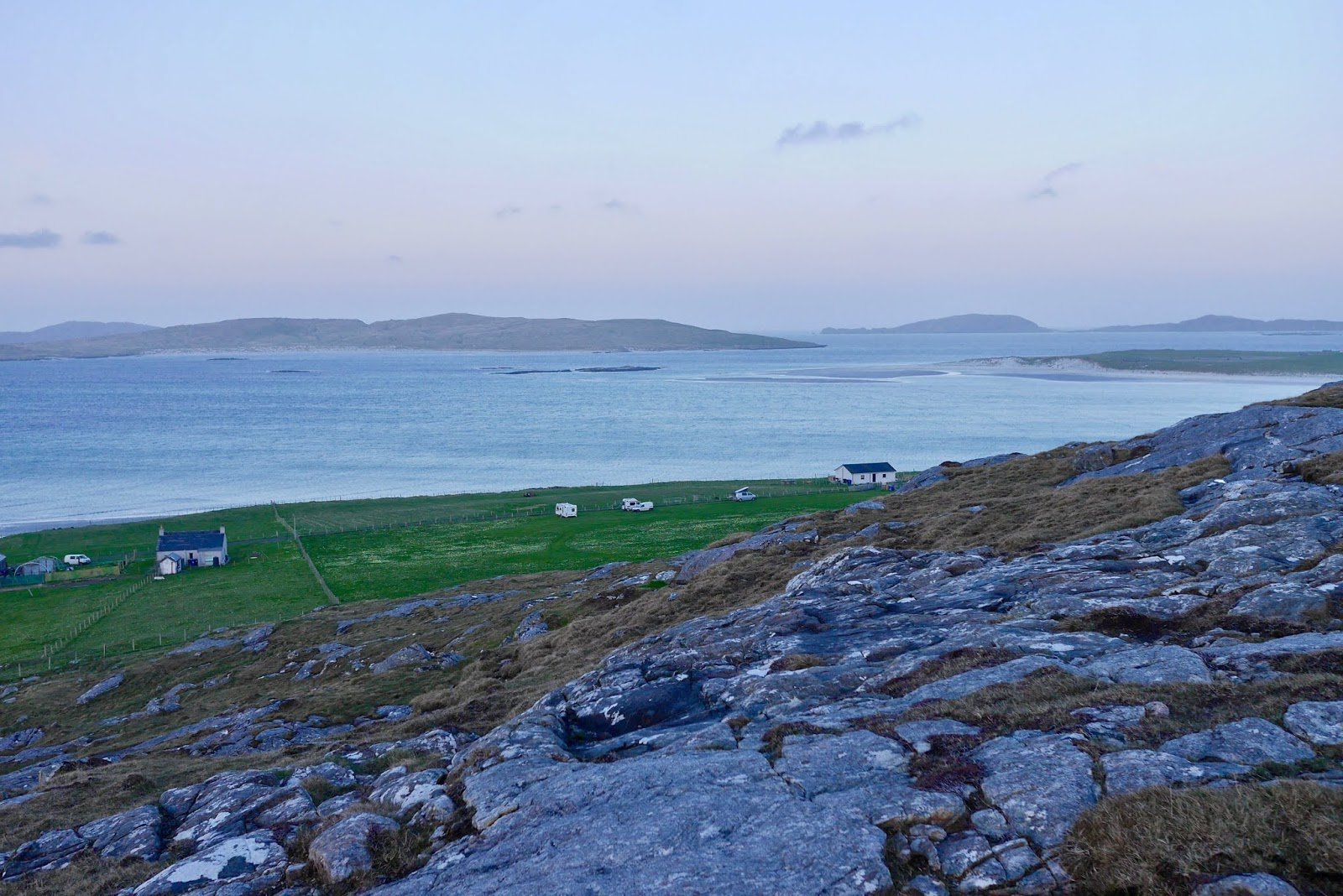 Camping in Barra, Campsites in scotland that allow fires
