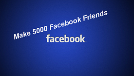 Make 5000 Facebook Facebook Friends in Just One Day without Block