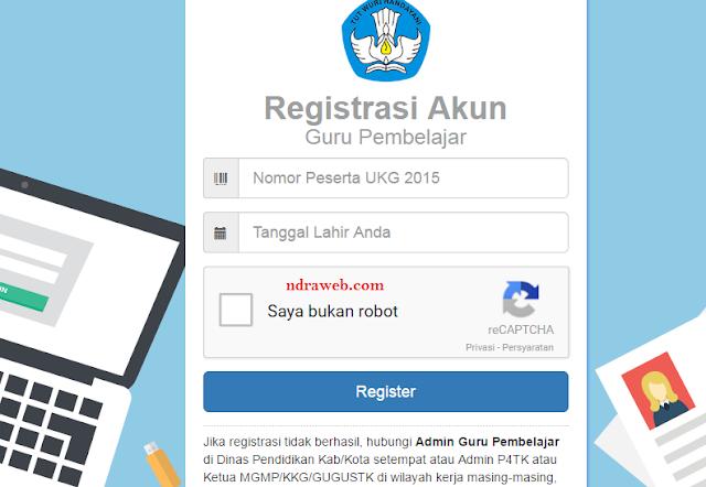Cara Daftar/Registrasi Program Guru Pembelajar Kemendikbud 2016