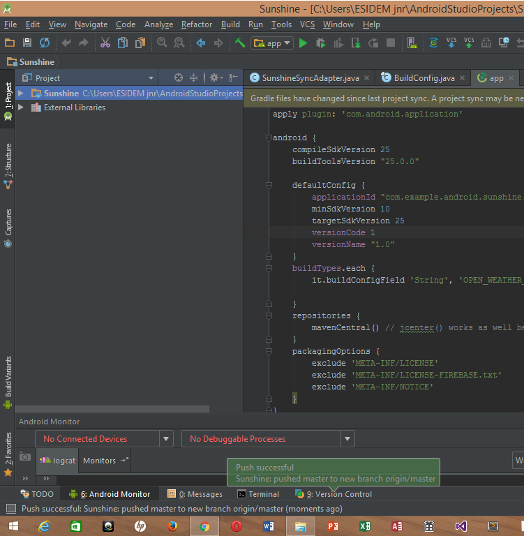 Adding your Project to Git Hub using Android Studio | Tech Depo