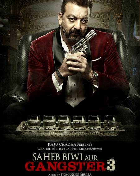 Saheb, Biwi Aur Gangster 3 new upcoming movie first look, Poster of Sanjay Dutt, Jimmy Shergill next movie download first look Poster, release date