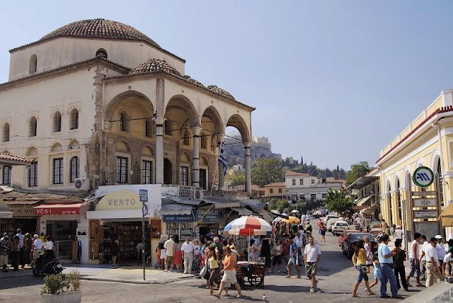 Mercado Monastiraki, Atenas