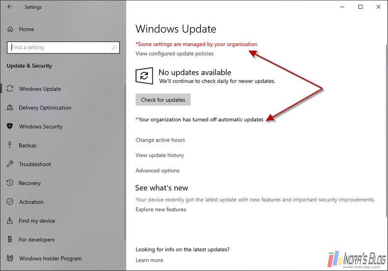 Cara Ampuh Mematikan Automatic Update di Windows 10 Secara Permanen