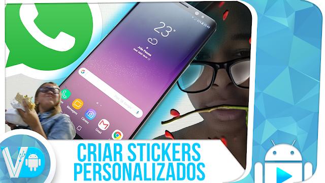 REVELADO! Como CRIAR STICKERS PERSONALIZADOS para usar no WhatsApp