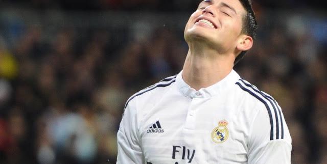 El Madrid planea vender a James Rodríguez ante el fracaso de la Jamesmanía