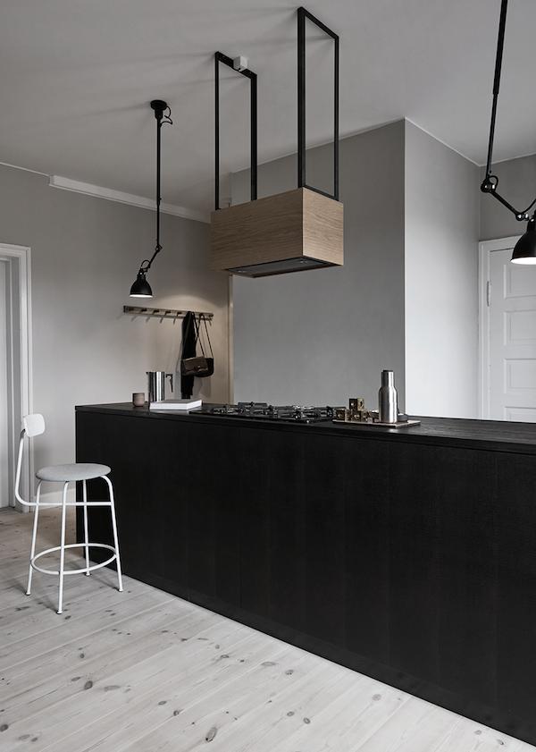 Nice An All Black Reform Kitchen In A Bright Copenhagen Home