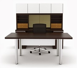 Cherryman Verde Series Desk Configuration VL-749N