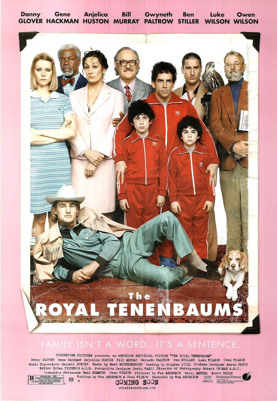 The Royal Tenenbaums (2001) Directed by Wes Anderson