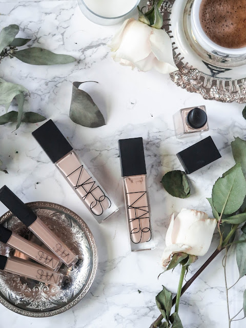 A Foundation Game Changer | NEW NARS Cosmetics Natural Radiant Longwear Foundation & Radiant Creamy Concealer | Review & Swatches | labellesirene.ca