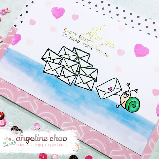 ScrappyScrappy: Brentwood Owl - Home of the Brave with JLO Stamps #scrappyscrappy #jlostamps #jessicalynnoriginal #brentwoodowl #stamp #coloring #card #cardmaking #papercraft #emboss #washitape