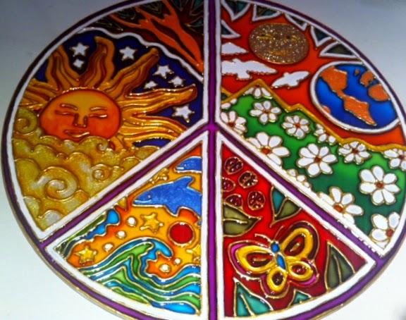 Mandalas Para Pintar Animal Bordeado De Paisaje On: Geometrias Del Alma