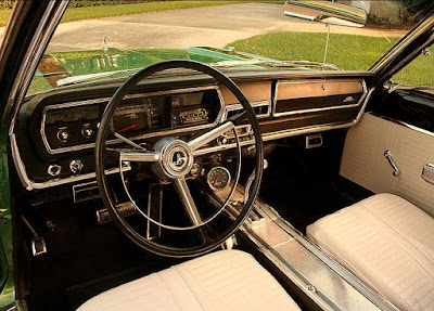 1967 Plymouth GTX 440 Magnum Sports Coupe Interior Cabin