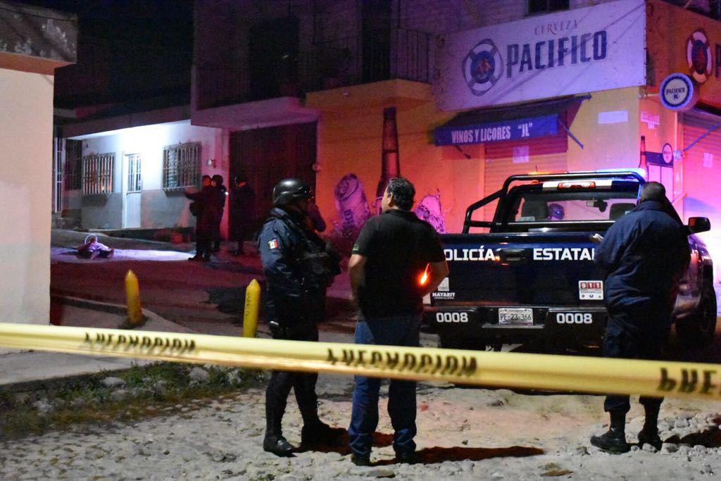 Ejecutan a dos hombres con AK- 47 en Tepic, Nayarit