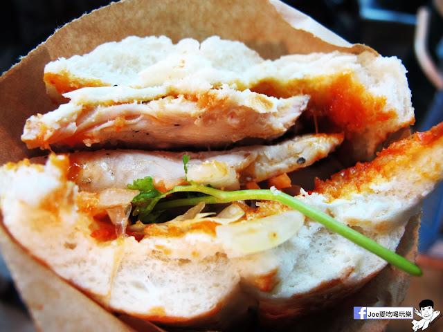 IMG 4947 - 【熱血採訪】NickJu 尼克啾 碳烤法式三明治 位於中國醫附近的尼克啾 NickJu 主打法式三明治,把餐廳所用的食材搬到街頭,讓客人用平價價格吃到高檔美味