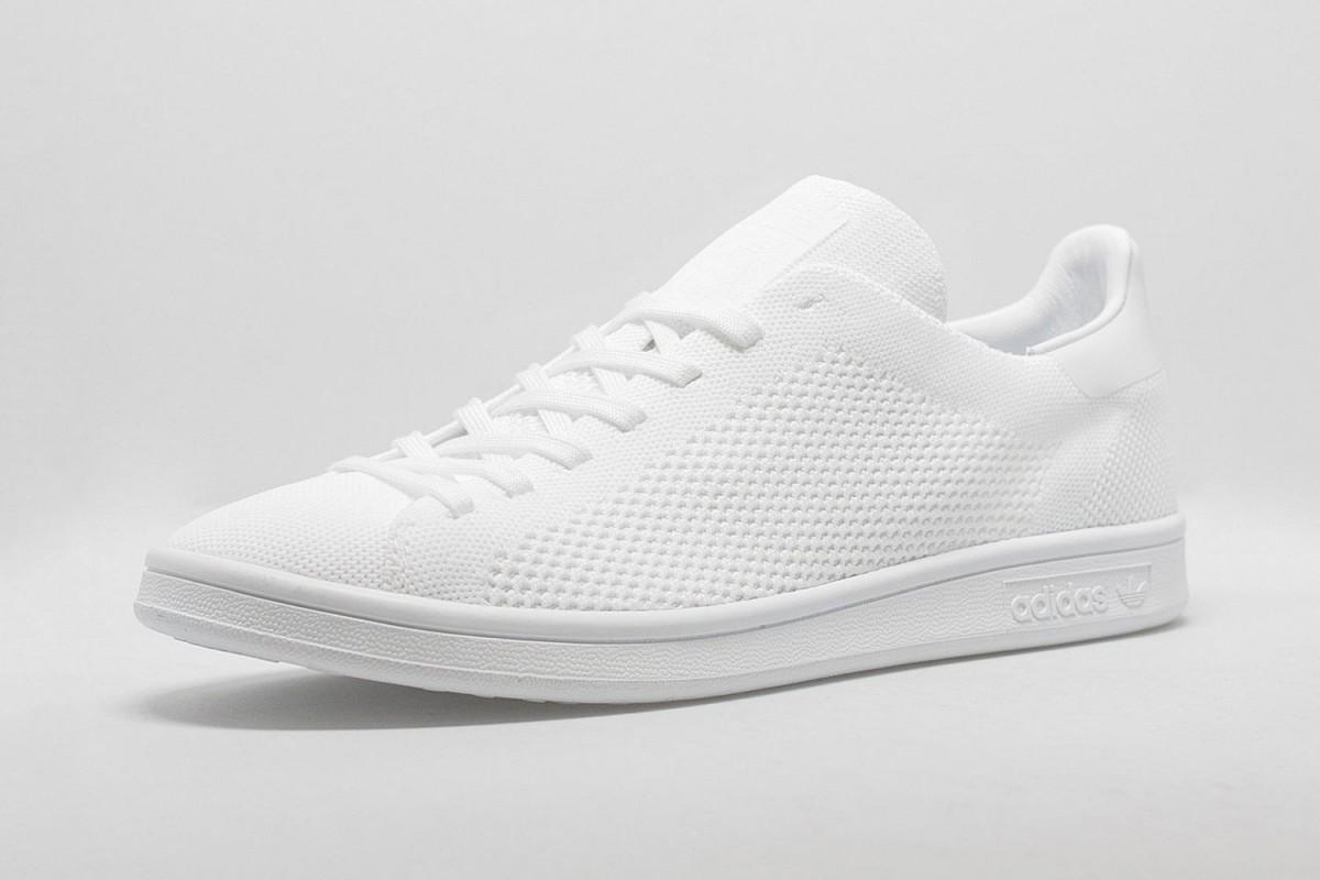 807c0443f04c1 Adidas Stan Smith Primeknit Triple White and Triple Black