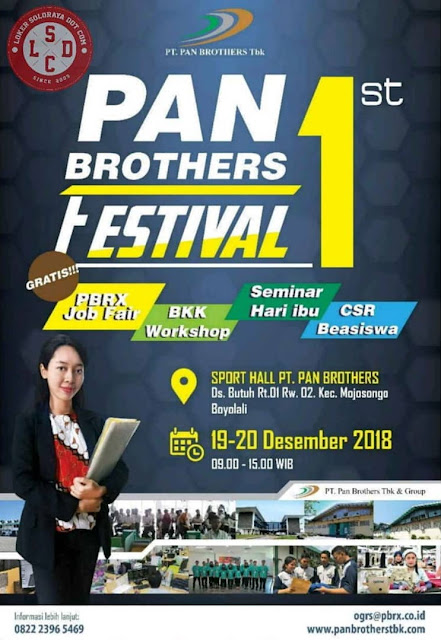 Job Fair PT. Pan Brother