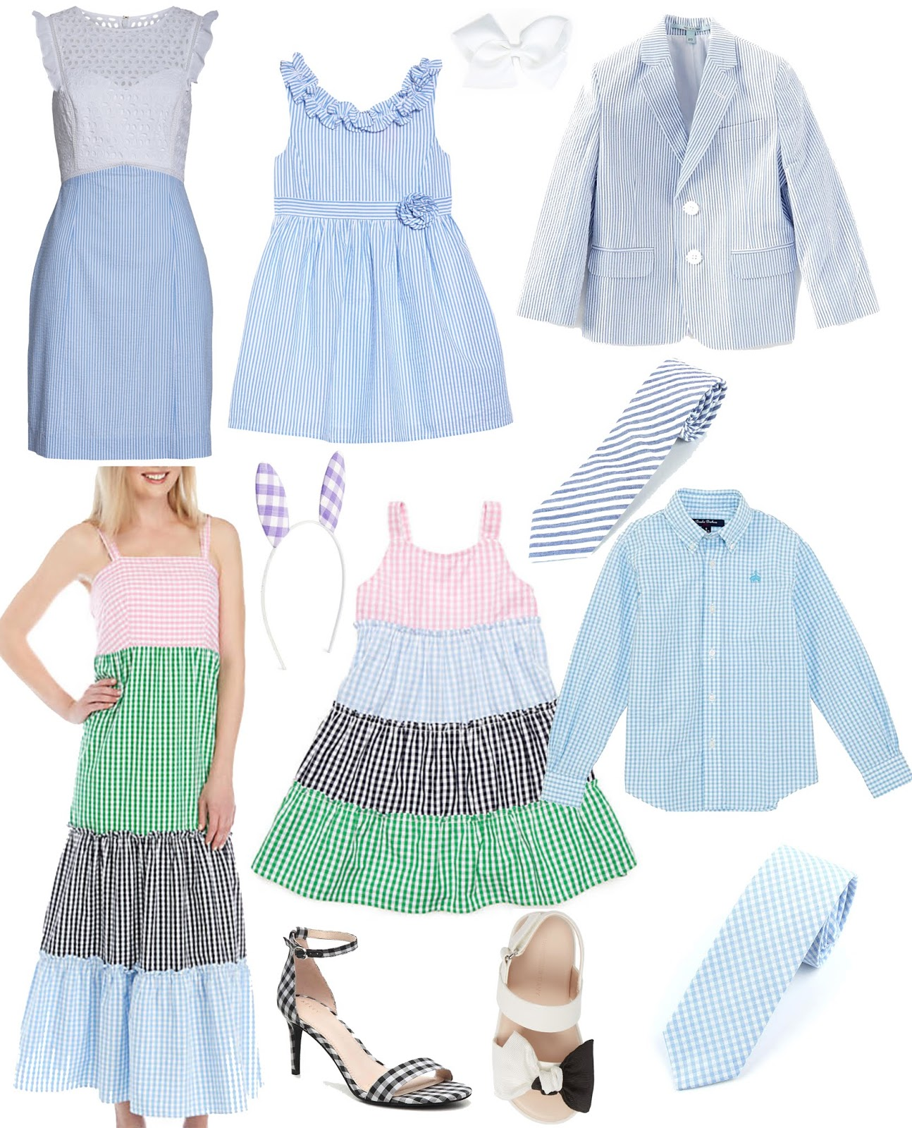 Easter Dresses + Easter Outfit Inspo for the Whole Family  - Something Delightful Blog