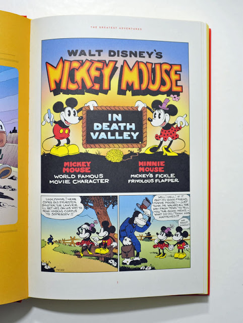 Mickey Mouse in Death Valley, first page