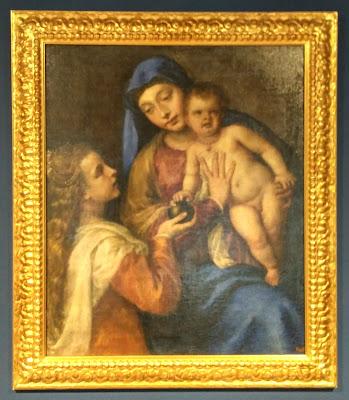 Palazzo Fulcis, Madonna dell'Ermitage di Tiziano