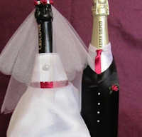 одежда на шампанское своими руками