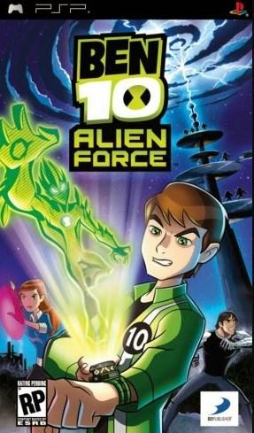 Game Ben 10 Alien Force PSP Iso Cso Ukuran Kecil